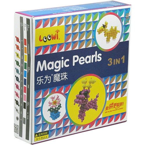 Loowi Magic Pearls, 3 in 1 Package, Model LWMZ296