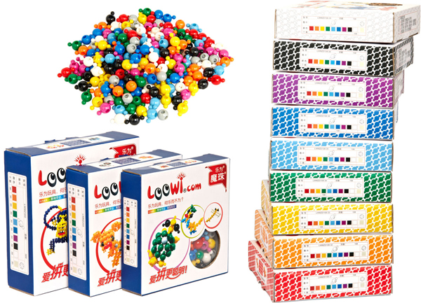 Loowi Magic Pearls, Trational Package, Multi-Colors, Single Color